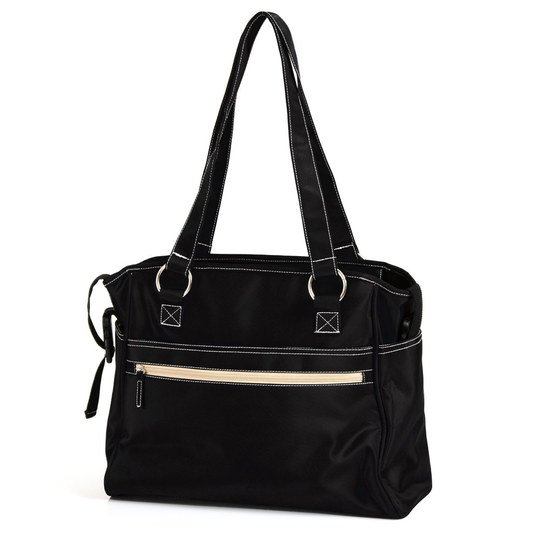 Wickeltasche City - Black