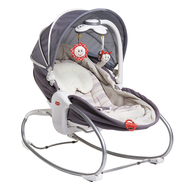 Schaukel-Wippe 3in1 Cozy Rocker Napper - Grau