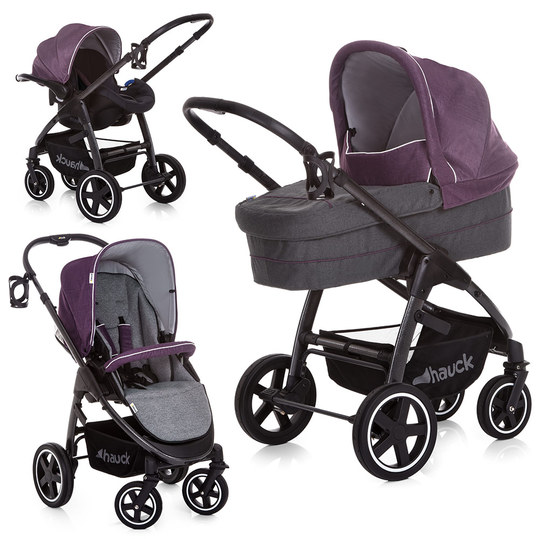 Kinderwagen-Set Soul Plus Trio Set - Berry