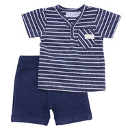 2-tlg. Set T-Shirt + Hose - Surf Workshop Navy