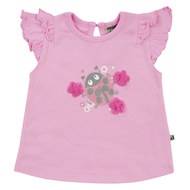 T-Shirt Little Bug - Rosa - Gr. 68