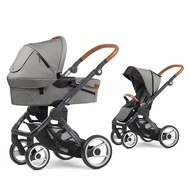 Kombi-Kinderwagen EVO Gestell Grau Urban Nomad - Light Grey