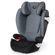 Kindersitz Solution M - Pepper Black Dark Grey