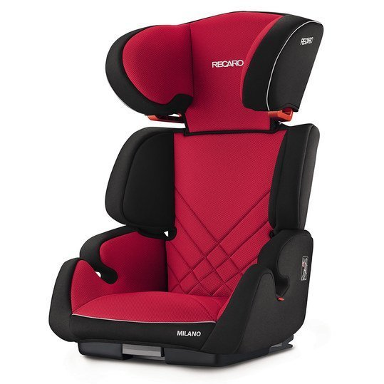 Kindersitz Milano Seatfix - Racing Red