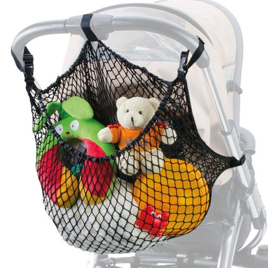 Shopping net XL for prams - Black