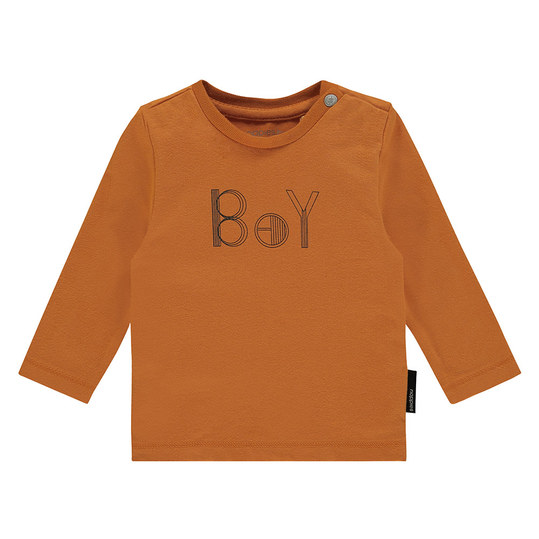 Langarmshirt Tiverton - Boy Orange - Gr. 56