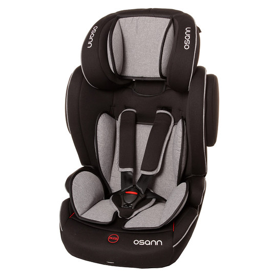 Child seat Flux Isofix - Grey Melange