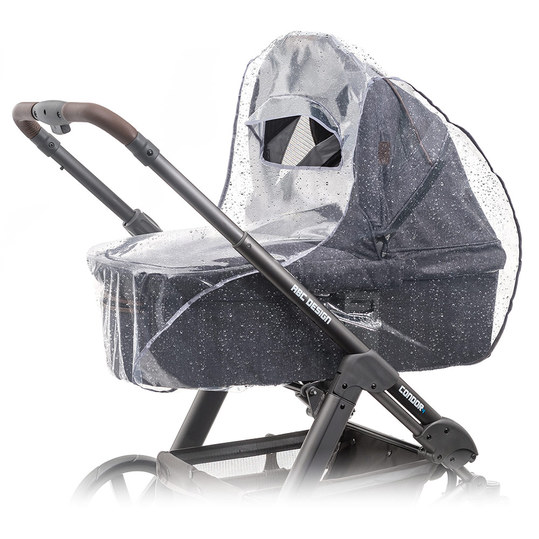 Universal rain cover for prams (baby tubs or carrier bags)