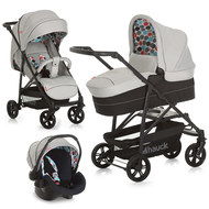 Kinderwagen-Set Toronto 4 Trioset - Grey