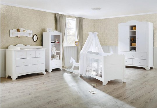 pinolino kinderzimmer pino mit 2 t rigem schrank bett. Black Bedroom Furniture Sets. Home Design Ideas