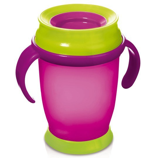 Trinkbecher 360° Junior 250 ml - Pink