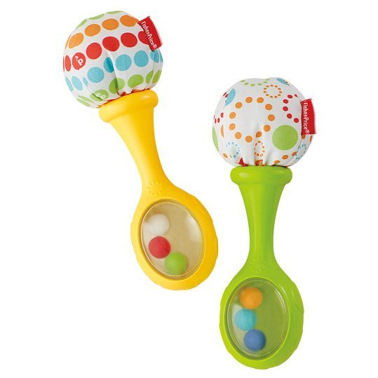 Babys Rumba-Rattles pack of 2