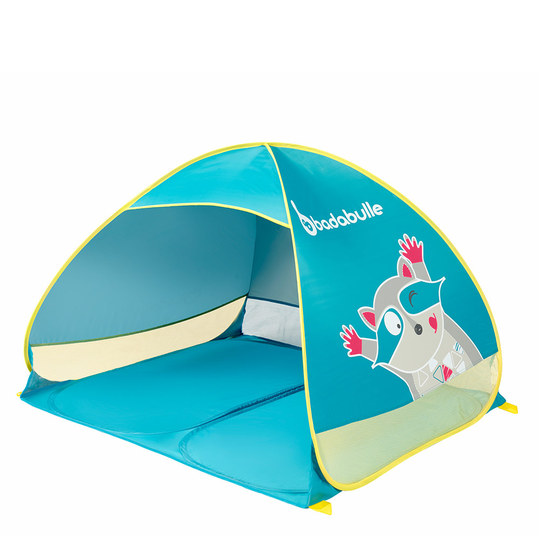 Play tent with UV protection - raccoon