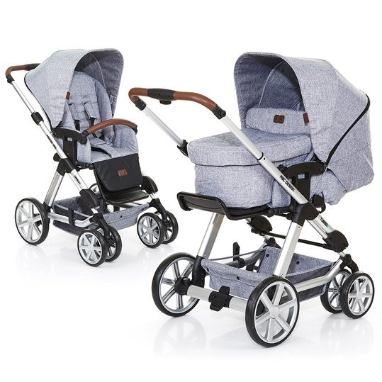Kombi-Kinderwagen Turbo 6 - Graphite Grey