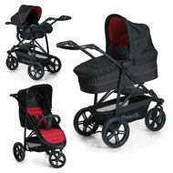 Kinderwagen-Set Rapid 3 Plus Trio Set - Caviar/Tango