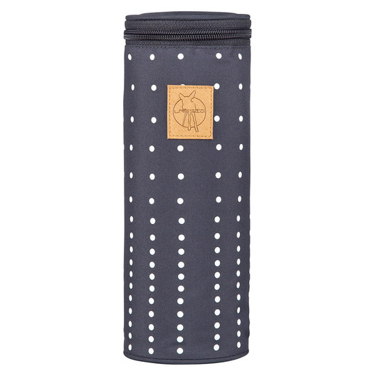 Isoliertasche Casual Bottle Holder Single - Dotted Lines - Ebony