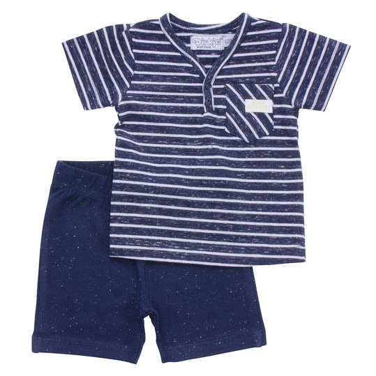 2-tlg. Set T-Shirt + Hose - Surf Workshop Navy - Gr. 74