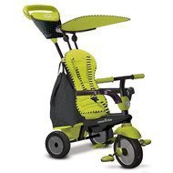 Dreirad Glow 4 in 1 mit Touch Steering - Green