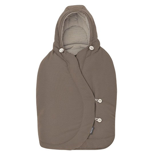 Fußsack für Babyschale Cabriofix / Pebble / Citi - Earth Brown