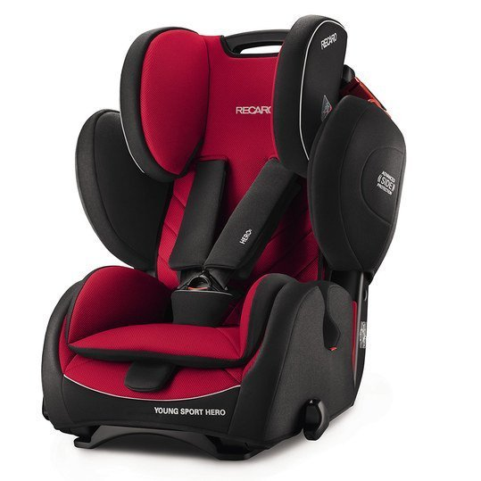 Kindersitz Young Sport Hero - Racing Red
