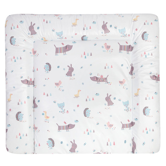 Folien-Wickelauflage Softy - Crazy Animals - Bunt