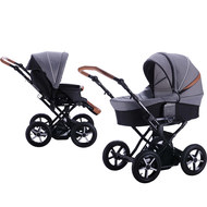 Kombi-Kinderwagen Touring Cross Exklusiv - Grey