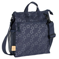 Wickeltasche Casual Buggy Bag - Reflective Star - Navy