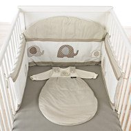 Bow Nest Elephant - Beige