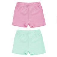 Shorts 2er Pack - Uni Rosa Mint