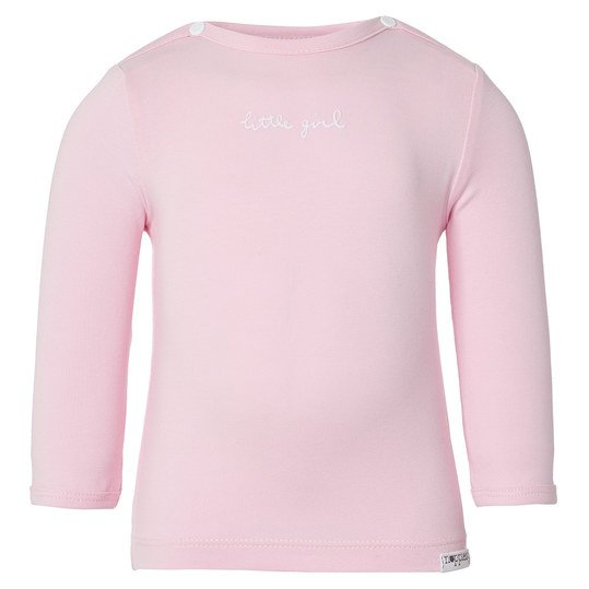 Langarmshirt Little Girl Gr. 56 - Rosa