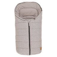Fußsack All-Season Anny für Babyschalen - Light Grey Melange