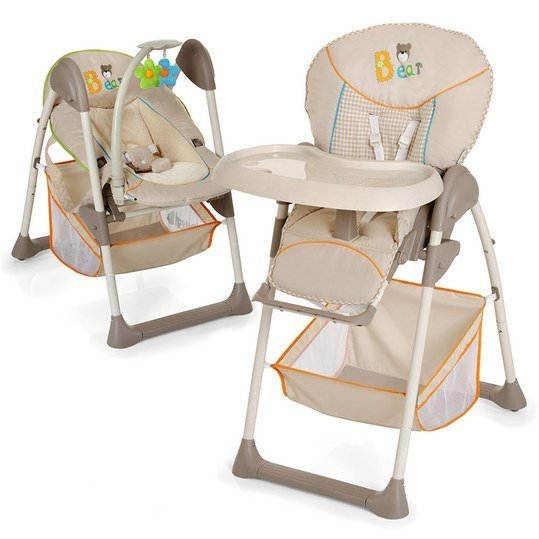 High chair & baby couch Sit'n Relax - Bear