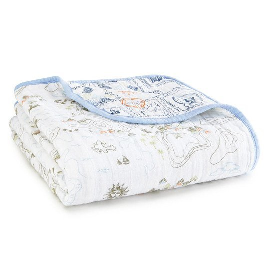 Kuscheldecke Organic Dream Blanket 120 x 120 cm - Warrior Finn