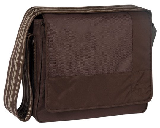 Wickeltasche Casual Messenger Bag - Patchwork Choco