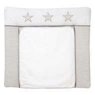 Wrap-around pad with terry cloth cover - Star Beige