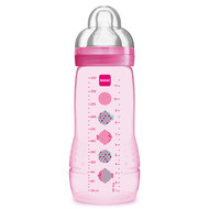 PP bottle Easy Active Baby Bottle 330 ml - silicone size 2 - for girls