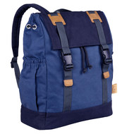 Wickelrucksack Vintage Little One & Me Backpack - Blue