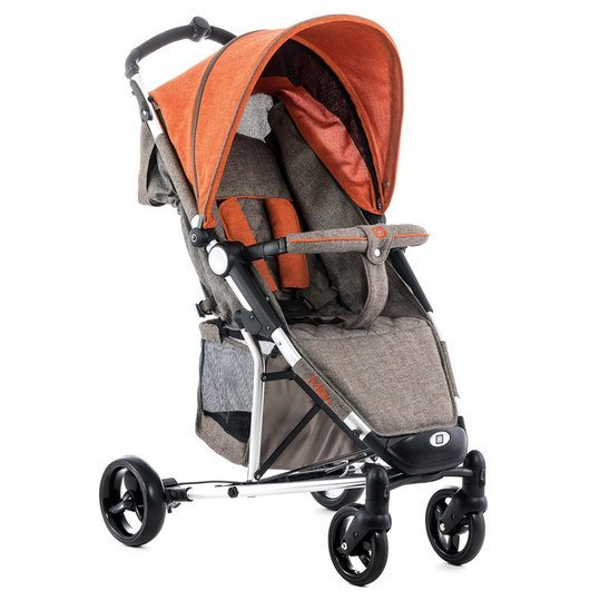 Buggy Kiss - Brown Orange Melange