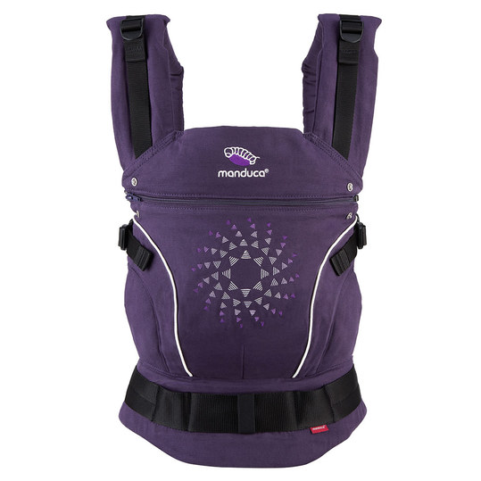 Babytrage Pure Cotton Limited Edition - Purple Darts