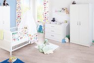 Viktoria children's room with wide changing unit