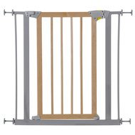 Türschutzgitter Deluxe Wood & Metal Safety Gate 75 - 81 cm