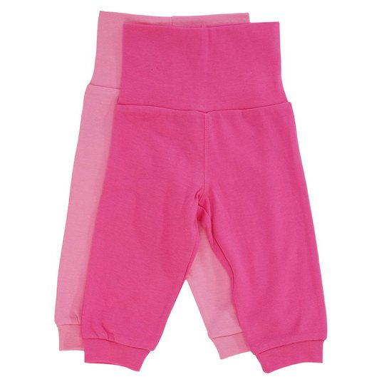 Jogginghose 2er Pack - Girls - Pink Rosa - Gr. 74/80