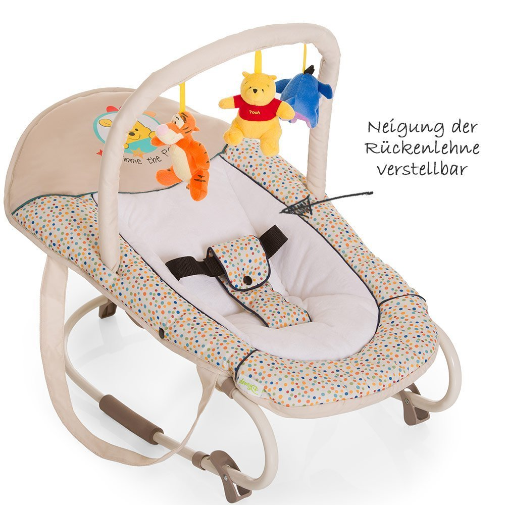 46f0748166c Hauck - Baby Bouncer Bungee Deluxe - Disney - Pooh Ready to Play -  Babyartikel.de