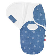 Puck-Wickeltuch Comfort-Swaddle s.Oliver - Moonlight - Blue