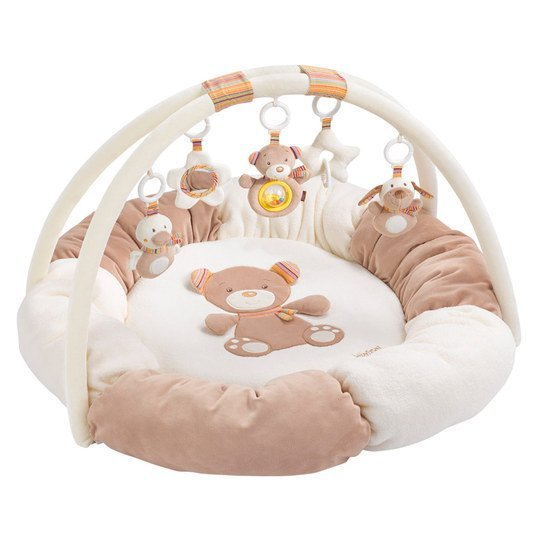 Baby Fehn - 3D Activity-Nest Teddy - Rainbow