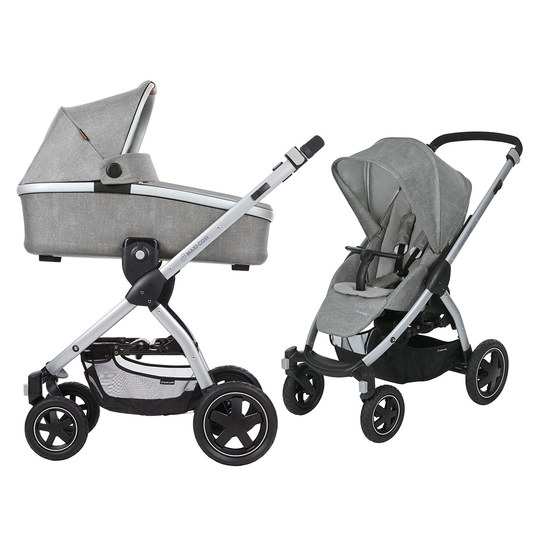 maxi cosi kombi kinderwagen stella inkl babywanne oria nomad grey. Black Bedroom Furniture Sets. Home Design Ideas