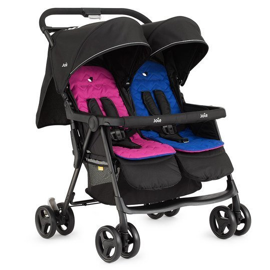 Geschwisterbuggy AireTwin - Pink Blue