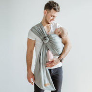 Ring Sling Tragetuch Jumps - Grau 210 cm