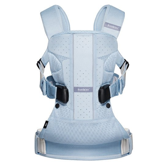 Babytrage One Air Mesh Ergonomic Edition - Eisblauer Fisch