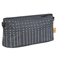 Buggy-Organizer Casual - Dotted Lines - Ebony